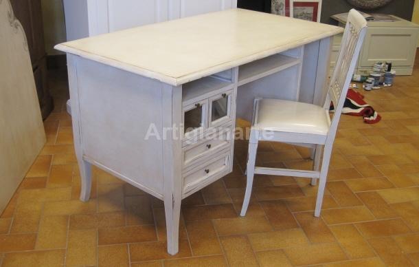 scrivania shabby chic  Artigianarte