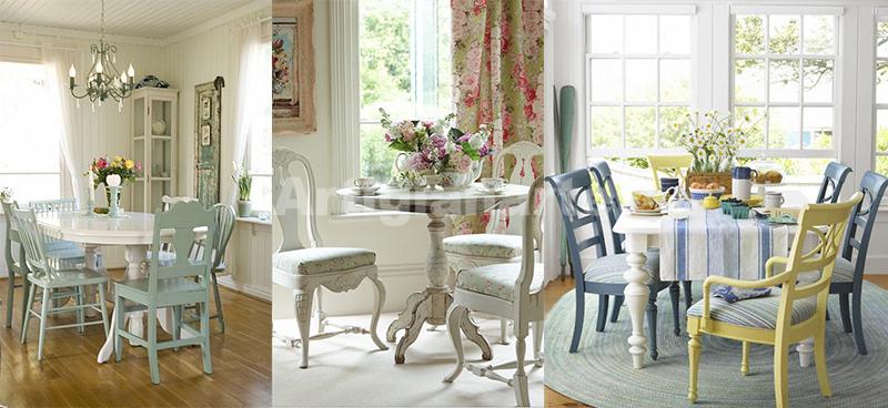 Io li ho scelti per le sedie della mia cucina in muratura. Arredamento Provenzale Online 3 Idee Per Abbinare Tavolo E Sedie