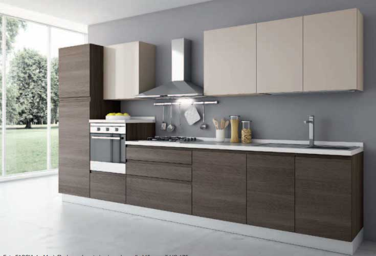 Cucina Lineare Modello Romina Cucine Artigianali Cucine e Bagni Offerte Cucine E Bagni