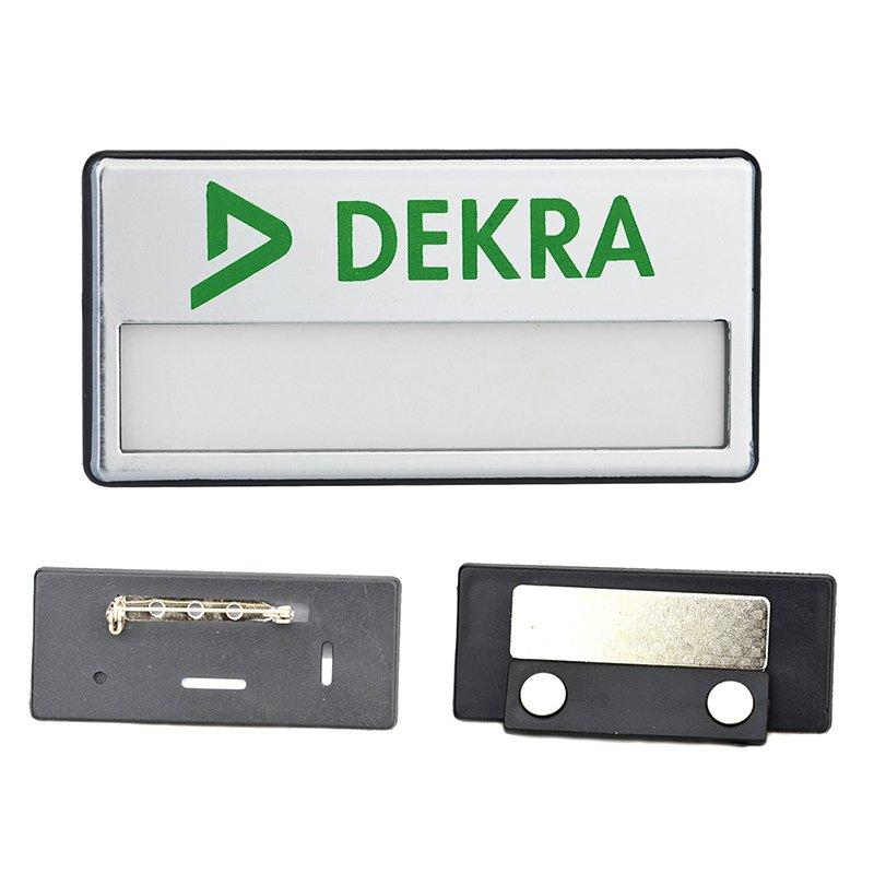 Magnetic Name Badges Custom Design Your Own Plastic Badge - Pin Badge