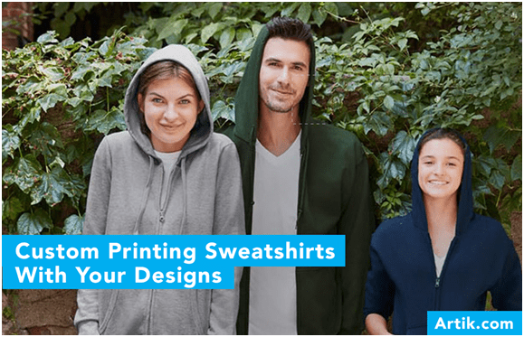 Common Questions about Ordering Custom Printed Sweatshirts