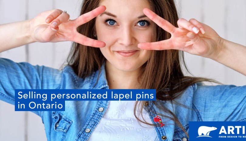 Tips for Selling Personalized Lapel Pins in Ontario