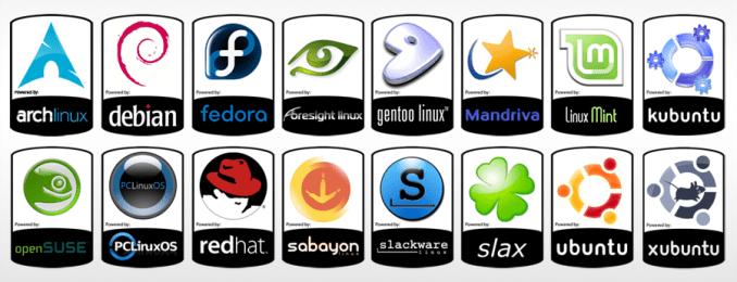 contoh distro linux