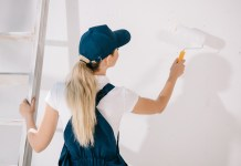 woonkamer schilderen