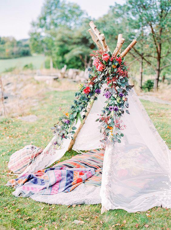 bohem çadırlar