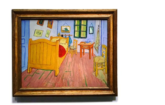 Van Gogh'un odasına yolculuk