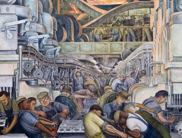 Diego Rivera Detroit Industry Mural