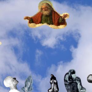 love, prayer, heart, religion, Judaism, Christianity, Islam, child's prayer, motherhood, skull, hands, Dalai Lama