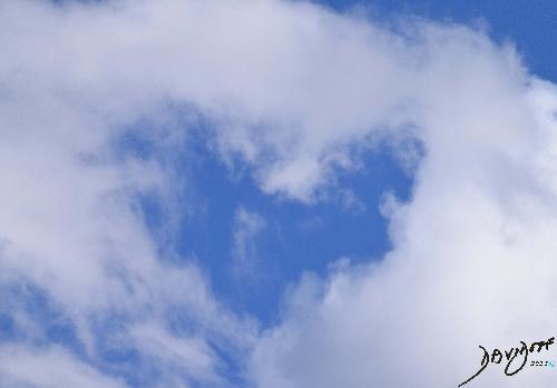 heart, clouds, sky, heaven, heart shape, Valentine's day