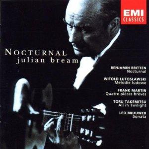 Julian Bream, Nocturnal, Emi Classics, 1964