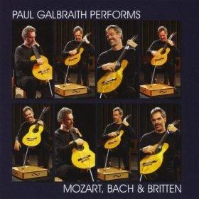 Paul Galbraith, Paul Galbraith performs Mozart, Bach & Britten, Mashulka Productions, 2009