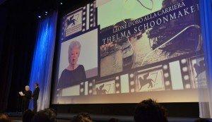 Leone d'oro alla carriera a Thelma Schoonmaker, 71. Mostra d'Arte Cinematografica, Venezia 2014. Credits Valentina Zanaga