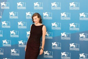 Milla Jovovich all'Anteprima del film Cymbeline, 71. Mostra d'Arte Cinematografica, Venezia 2014. Credits Octavian Micleusanu