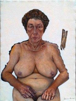 M. Avi, Silvia, 2013, olio su tela, 60 x 80 cm