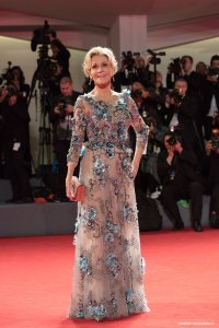 Venezia#74 Jane Fonda sul Red Carpet del film Our Souls At Night, regia di Ritesh Batra. Foto Octavian Micleusanu