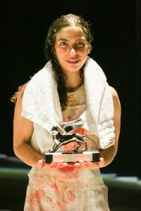 """12.Festival Internazionale di Danza Contemporanea. Il Leone d'argento Marlene Monteiro Freitas alla prima di """"Bacchae-Preludio to a Purge"""" (2017, 135 min)"""