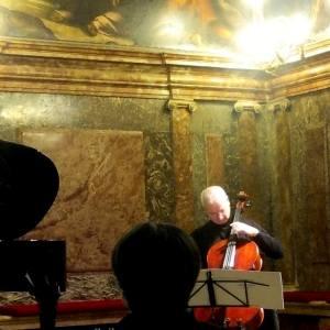 oloncello Serenata seconda di Renato De Grandis (26 novembre 2018). Foto Anna Maria Griseri