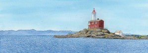 Fisgard Lighthouse by Melanie Willing