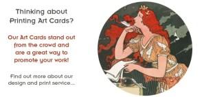 Art Ink Print - Art Cards