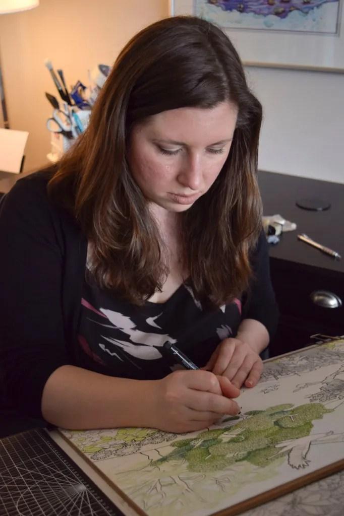 Artist Amy Frank
