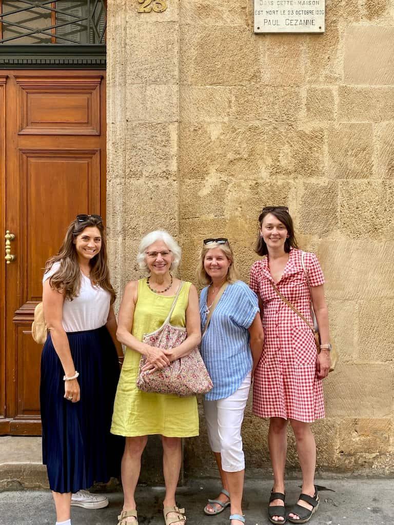 Walking tour in Aix