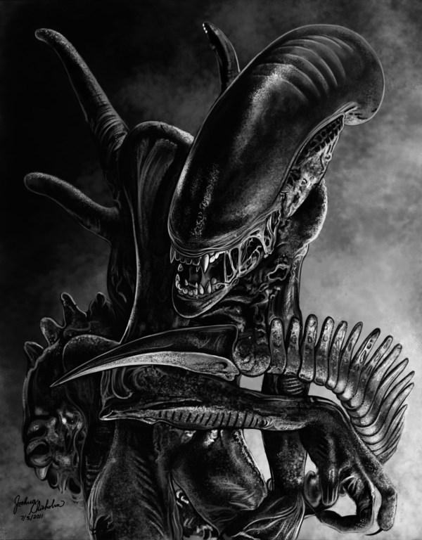 Alien Original And Limited Edition Art - Artinsights Film