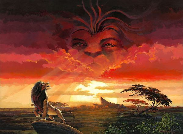 Lion King Remember Who You Are Art
