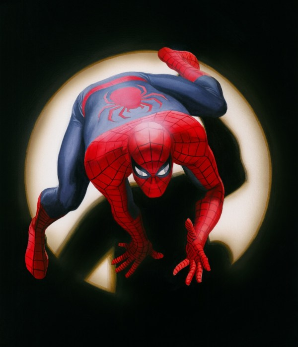Marvels Spider-man Signed Alex Ross - Artinsights Film Art