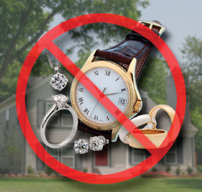Keep Jewelry OFF Homeowners Policy