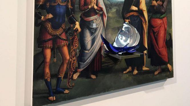 $60,000 Jeff Koons' Sculpture Destroyed at Amsterdam Exhibit
