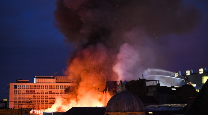 Will the Glasgow School of Art rise from the ashes again?