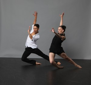 Maeghan McHale and Martin Ortiz Tapia in EXit4, photo by Gorman Cook
