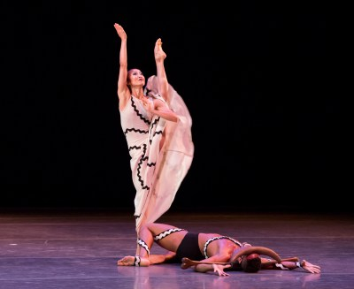 Martha Graham Dance Company in Graham's 'Errand Into the Maze', showing Friday in the Chicago Dancing Festival | photo by Cheryl Mann