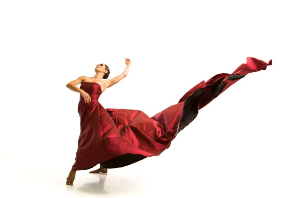 Jessica Wolfram in her signature solo 'Renatus' | photo by Cheryl Mann, courtesy of Carol Fox & Associates