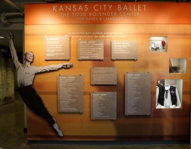 Donor board at the Bolender Center (photo: Lauren Warnecke)
