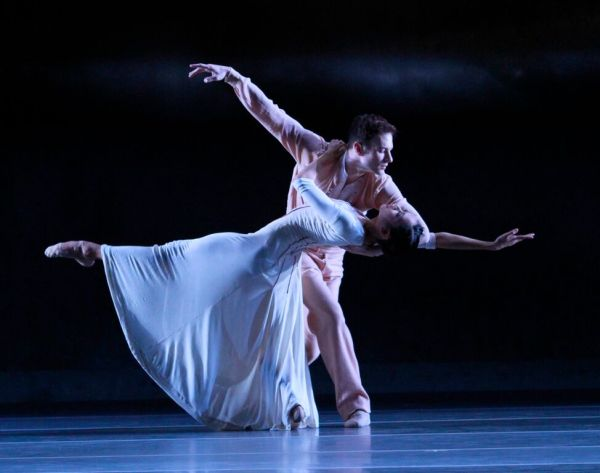 Christine Rocas and Rory Hohenstein in Forgotten Land. Photo by Herbert Migdoll