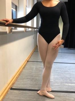 Figure 1: ballerina in fifth position