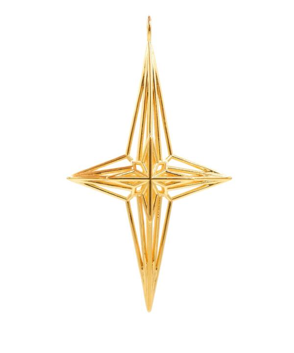 Soul Star Pendant 18K Gold Plated Brass ArtisanGifts2