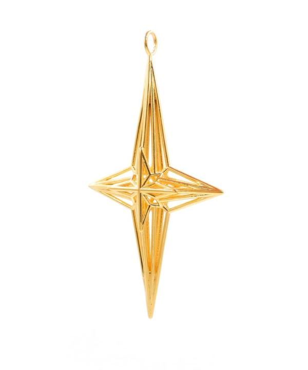Soul Star Pendant 18K Gold Plated Brass ArtisanGifts3