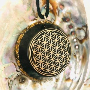 Flower of life hanger shungiet shungite