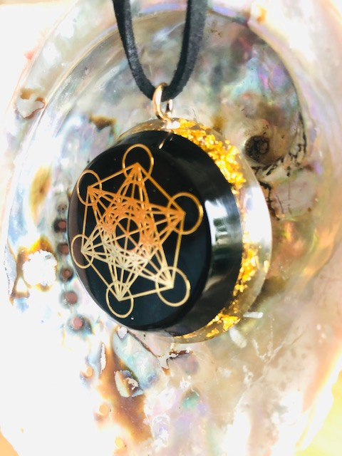 Shungite Metatron Gold 3