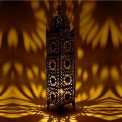 Wall Lamps Living Room Bobs Furniture Moroccan Iron Lantern Koutoubia, Lighting