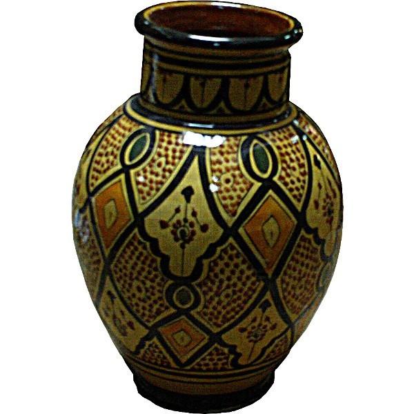 Vase marocain en cramique Poterie de Safi