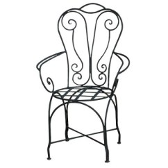 Chair Design Iron Wing Slipcover Pattern Armchair For Indoor Or Outdoor Wrought