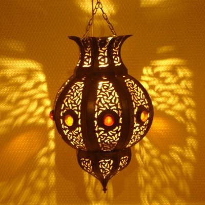 Luminaire De Salon En Fer Lanterne Marocaine Marrakech