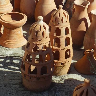 Lampe de jardin dcorative Poterie Artisanale marocaine de Marrakech