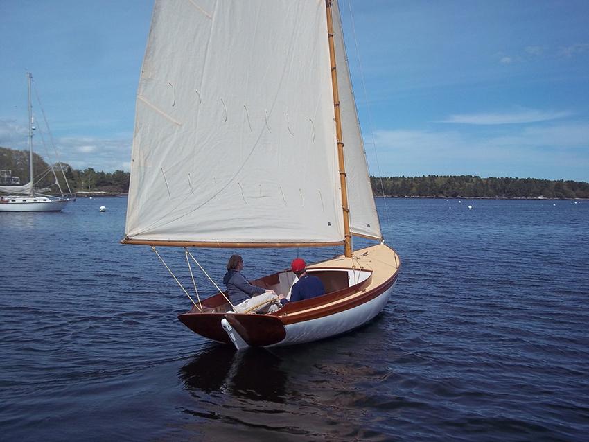 Herreshoff Fish Class TULIP Artisan Boatworks