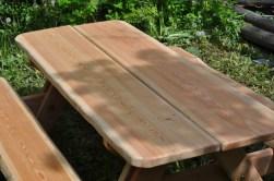 Table extérieur mélèze 4