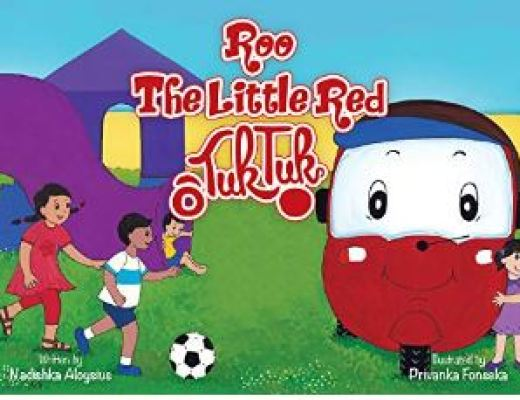 Roo, The Little Red Tuk Tuk by Nadishka Alovsius – Children's Book