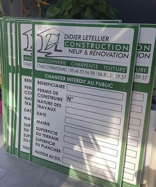 Affichage Du Permis De Construire Sur Chantier Les Obligations
